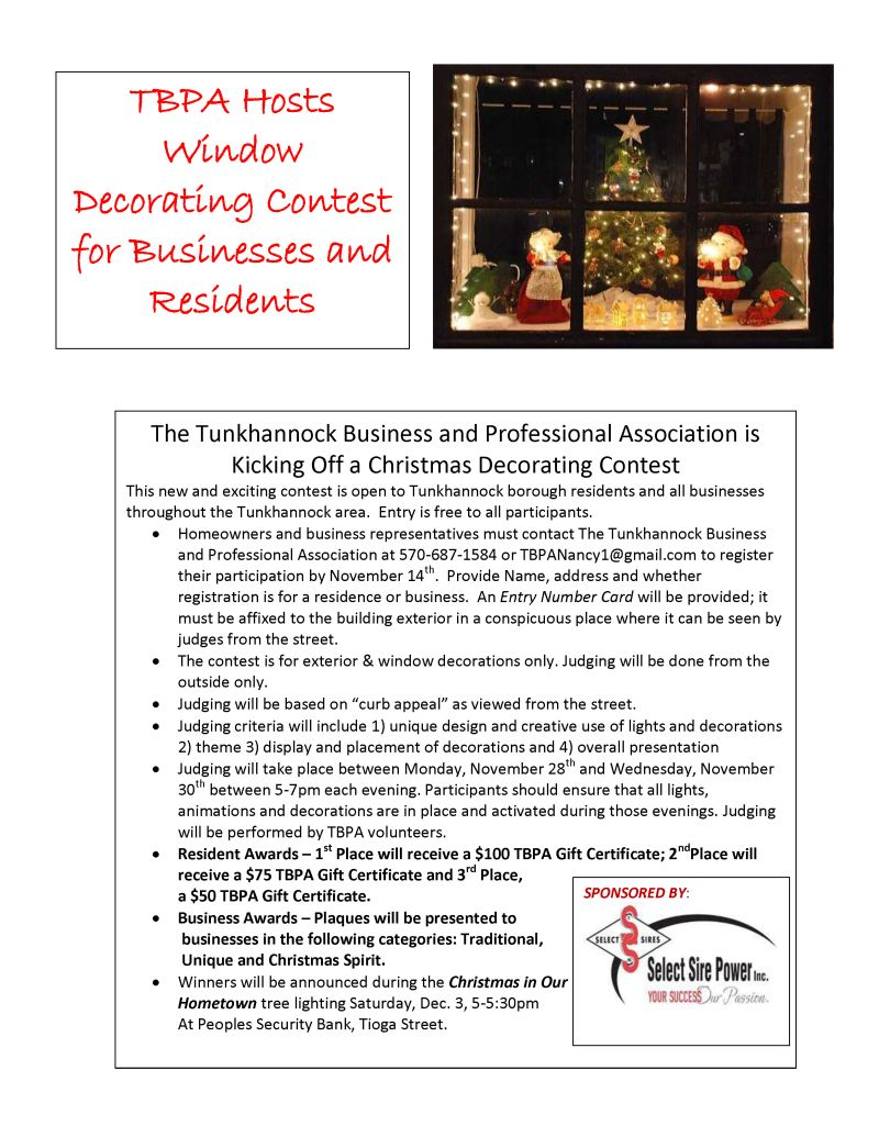 tunkhannock business professional association tbpa the tunkhannock business and professional association invites you to come and explore what is special about tunkhannock